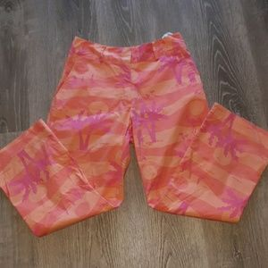 Lilly Pulitzer Pink Flamingo pants 2